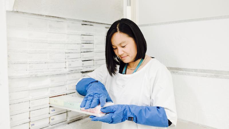 Advances-in-genomic-testing-Lisa-freezer
